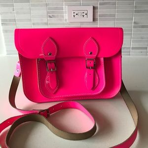The Cambridge Satchel Company Handbags - Cambridge Satchel neon pink