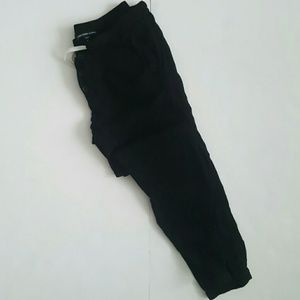 James Perse Pants - James Perse Button Fly Crepe Linen Pants