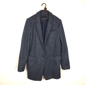 Banana Republic Jackets & Blazers - Banana Republic Navy Knit Boyfriend Blazer Jacket