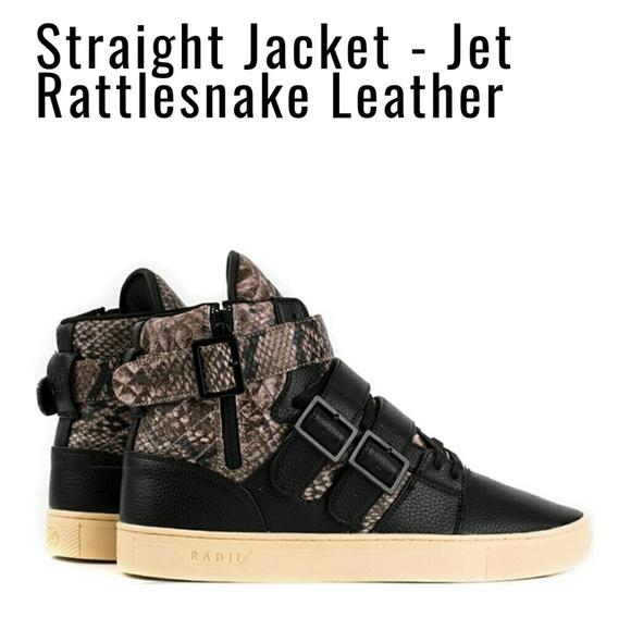 1add69662de59 Radii Footwear Shoes   Radii Straight Jacket Jer Snake Leather Black ...