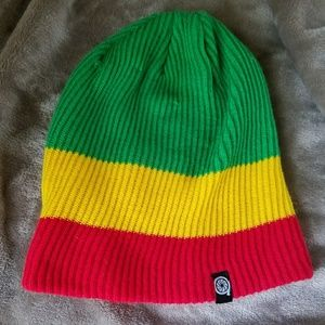 aperture Accessories - Rastafarian beanie with pocket inside