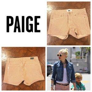 Paige Jeans Pants - Paige Denim Shorts