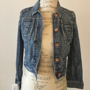86% off Express Jackets & Blazers - Express denim jean jacket with ...