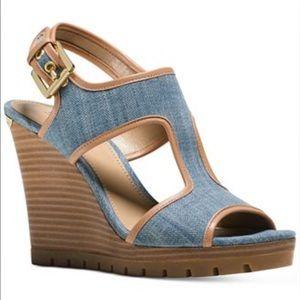 "MICHAEL Michael Kors Shoes - 💸NEW Michael Kors ""Gillian"" Wedge Sandals"