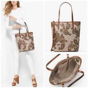 Coach Handbags - ♈️ $170 NWT LARGE PAISLEY tote with crossbody