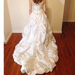 David's Bridal Dresses & Skirts - 😎️20%•off•3🎉 CUSTOM MADE WEDDING dress