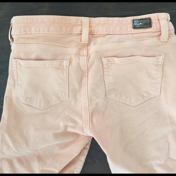 PAIGE Jeans - paige peg skinny citrus jeans size 26