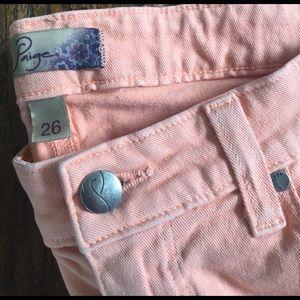 Paige Jeans Denim - paige peg skinny citrus jeans size 26