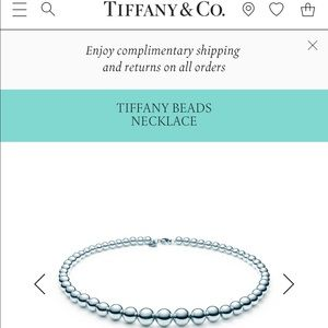 Tiffany & Co. Jewelry - Tiffany & Co. Beaded Necklace
