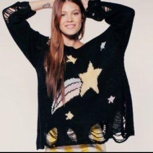Wildfox Sweaters - SALE Wildfox Shooting Star Sweater