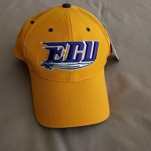 Zephyr Accessories - NWT EAST CAROLINA UNIVERSITY PIRATES FITTED HAT