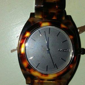 Nixon Accessories - Nixon Tortoise Stainless Steel Watch