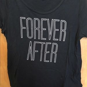 Old Navy Tops - DONATING SOON- Forever After Graphic Tee