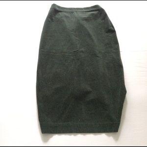 Vivienne Westwood Dresses & Skirts - Vivienne Westwood black mid calf Velvet skirt s10