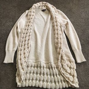 bohme Sweaters - Cream colored sweater/cardigan