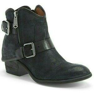 Donald J. Pliner Shoes - Donald J Pliner black suede western ankle bootie 5