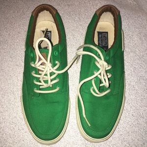 Polo by Ralph Lauren Other - Polo men's shoes green Sz 12