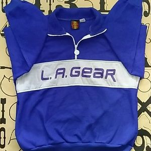 L.A. Gear Other - 90's style L.A Gear fleece pullover