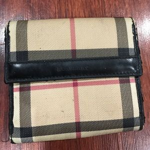 Burberry Handbags - Authentic Pre owned Burberry wallet