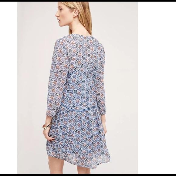 c451e1b9f96d Anthropologie Dresses | Nwt Anthro Sz 0 Betony Swing Dress Holding ...