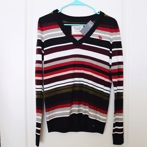 Abercrombie&Fitch Striped sweater S new with tags