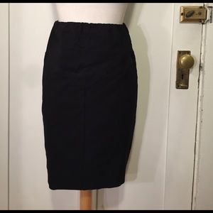 A Pea in the Pod Dresses & Skirts - A Pea in the Pod Black maternity pencil skirt