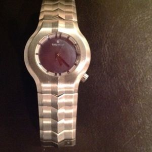 Tag Heuer Accessories - Tag Heuer alter ego watch with purple pearl face