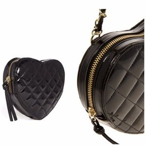 Asos quilted heart purse