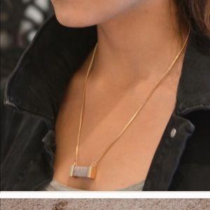 Farah Jewelry Jewelry - New semi precious stone with matching earrings