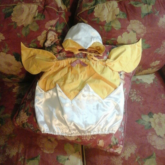 c507c19de0e Infant up to 25lbs chicken EGG costume. M 58e3ecf77f0a05a4050117b3