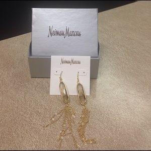 Panache Jewelry - Gold Panache earrings.