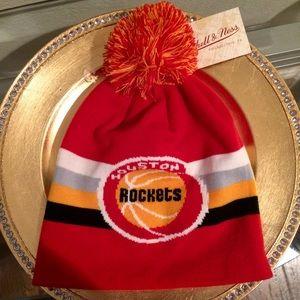 Mitchell & Ness Other - Houston Rockets Mitchell  Ness Knit Beanie Hat NWT