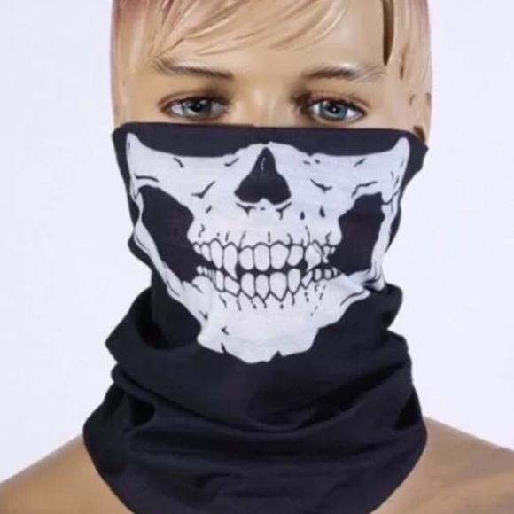Other Skeleton Ghost Skull Face Mask Biker Balaclava New Poshmark