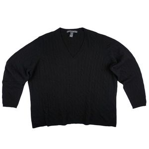 Saks Fifth Avenue Sweaters - SAKS FIFTH AVENUE 100% Cashmere CableKnit Sweater