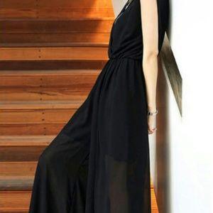 Pants - Gorgeous Chiffon Jumpsuit