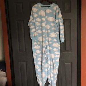 Nick and Nora Other - Nick and Nora Adult Onesie with feet size XL