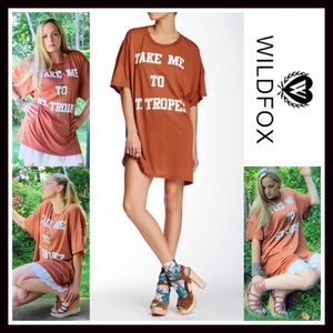 Wildfox Other - ❗️1-HOUR SALE❗️WILDFOX TUNIC DRESS COVERUP