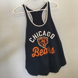 Junk Food Clothing Tops - Junk food Chicago Bears tank, large