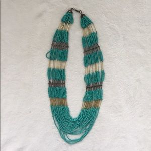 H&M Layered Bead Necklace