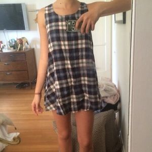 Brandy Melville Dresses & Skirts - Brandy Melville Rare Plaid Dress NWOT