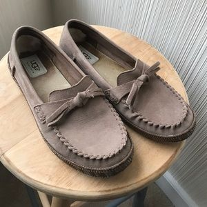 UGG Shoes - Ugg Amila Leather Moccasin