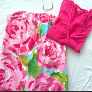 Lilly Pulitzer Hotty Pink First Impressions Keetan