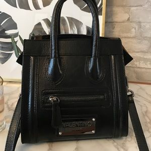 Valentino black satchel