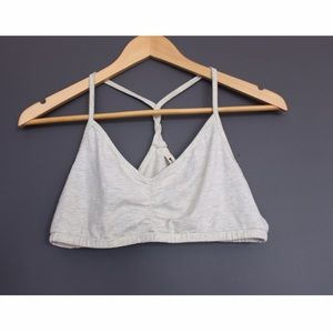 LAmade Other - Super soft cotton twisted back bralette