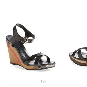 Burberry Shoes - Burberry wedge