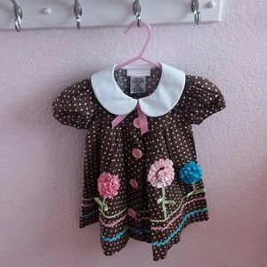 Bonnie Baby Other - Baby Girl Smock Dress