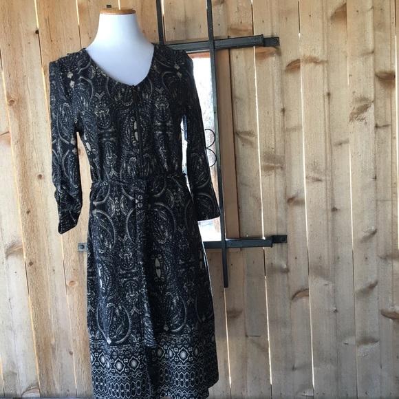 Tacera Dresses & Skirts - Tacera front zipper shirt paisley dress