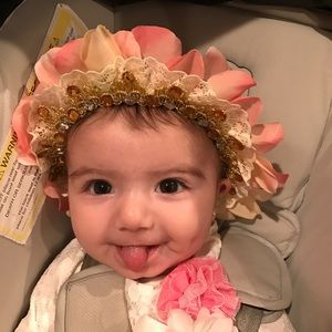 Other - Flower crown headband