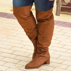 Eloquii Shoes - NIB Plus Size Over the Knee Boots by Eloquii