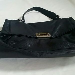 Tarnish  Handbags - Tarnish brand peebled leather silvertone hardware
